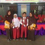 ananda Khansa Yumna Tsabita berhasil meraih peringkat 1 dan melaju ke tingkat provinsi Darussalam Batam